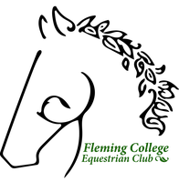 Fleming College Equestrian Club Logo 2 by Coraleat