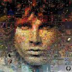 Jim Morrison Mosaic by Cornejo-Sanchez
