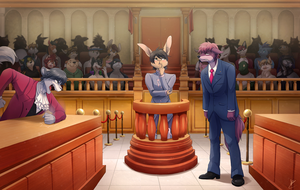Com: OBJECTION! by DragginCat