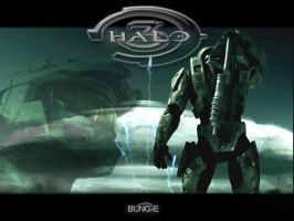 Halo 3 TV Trailer Wallpaper by Joshels