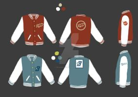Team Fortress 2 college jacket by Reggamuffin