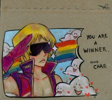 char for the win by thepapermouse