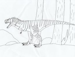 Draconian T.rex by Nevert013