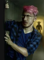 Markiplier FNAF scene (Youtube Rewind 2015) by Shuploc