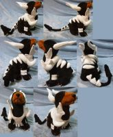 Howling Mega Houndoom (commission) small size by Rens-twin