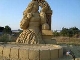 Sand art in burgas 20 by tonev