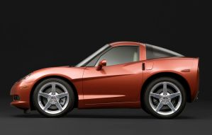 Mini Chevrolet Corvette 2005 by TrabzonSport