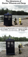 Doctor Whooves And Derpy in Canada by JStCPatrick