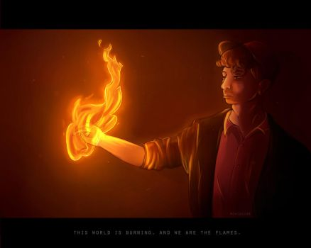 We Are The Flames by Achlucide