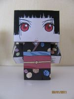 Hell Girl Enma Ai Cubeecraft by x0xChelseax0x