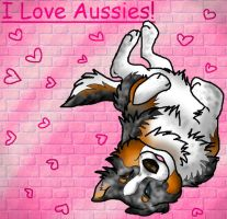 I Love Aussies by kokamo77