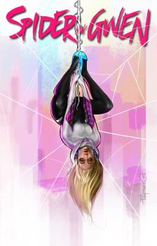 Spider Gwen by PapurrCat
