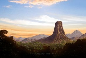 Volcano by aaronwty