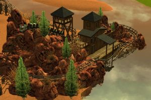 rct3 Thunder Mountain by Coasterdl