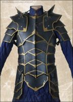 Black Knight Leather Armour by Fantasy-Craft