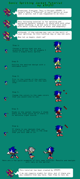 Sonic Spriting Tutorial- Jackets by XTP597