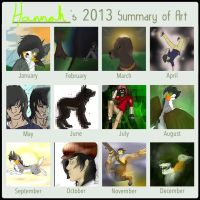 2013 - Art summary by Sniperisawesome