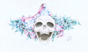 Skull'n Bow by Aphilien