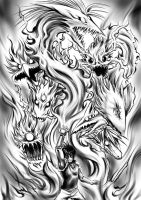 Flame of Recca by hyuthefish