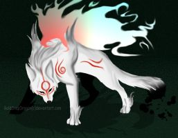 Amaterasu Painting by GoldSnapDragon