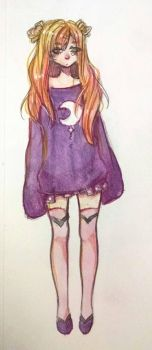 Anora in a sweater by KatyaHam