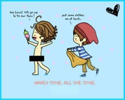 Harry and Louis (Cartoon) by 1Dluverrr2708