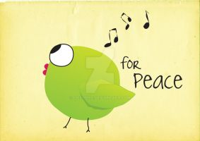 for peace by Cielodise