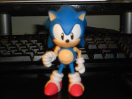 Sonic 1991 Figurine by embryonicContraption