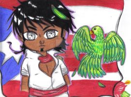 Aph oc : Puerto Rico by chibi098