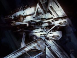Space Chunk by steve-burg