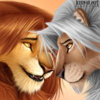 Commission: Simba and Timril by jocarra