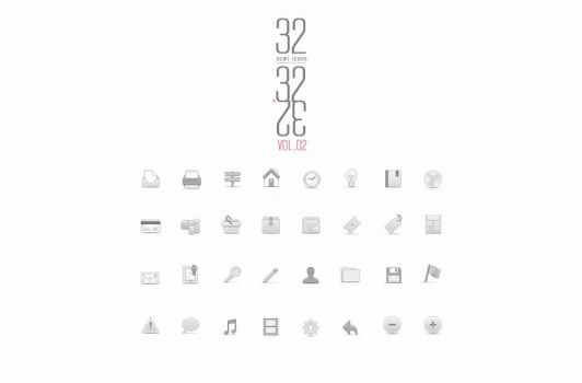 Free Soft Media Icons Set Vol 2 by Pixeden