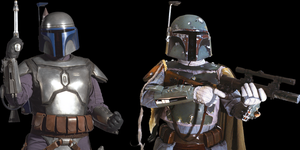 Jango, And Boba Fett. by coolmanjms