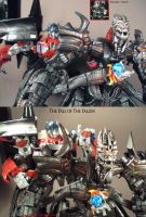 The Fall of The Fallen custom by Unicron9