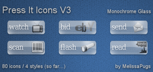 Press It Icons V3 by melissapugs