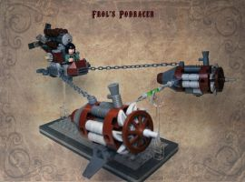 LEGO. Frol's steam podracer. by DwalinF