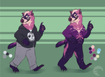 Pink and Powerful Design Auction (CLOSED) by UnfortunateCorvid