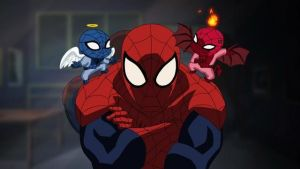 Ultimate Spiderman by papabear7