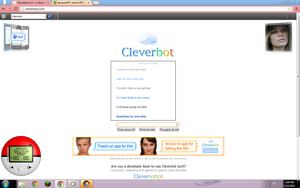 me and cleverbot lol by ask-DJpon3