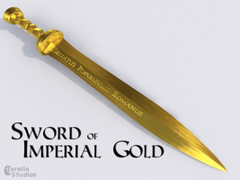 Sword of Imperial Gold by CorellaStudios
