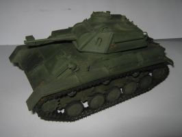 Soviet light tank T-80 by BHAAD