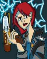Warehouse 13 Claudia Donovan by pascalscribbles