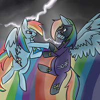 Dash Vs Dash by Opalwhisker