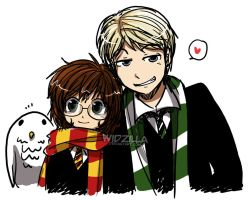 Harry Potter: Draco and Harriet by widzilla