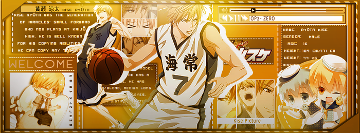 Kise Iggy by weikei123
