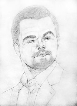 Leo DiCaprio - Sketch (updated) by Tatmione