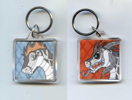 Lubbiz keychain commission by Viccinor