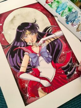 Sailor Mars by LeFay00