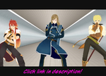 [MMD] Tales of the Abyss- Gentleman by SakuraNights