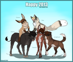 Happy 2013 by Opium5